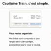 Capitaine Train, une façon simple et rapide d