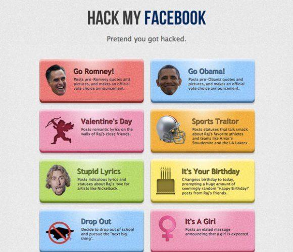 ce site vous permet de hacker votre compte facebook pour pi ger vos amis. Black Bedroom Furniture Sets. Home Design Ideas