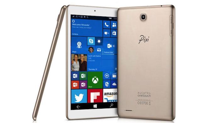 Alcatel OneTouch lance la Pixi 3, une tablette sous Windows 10 Mobile