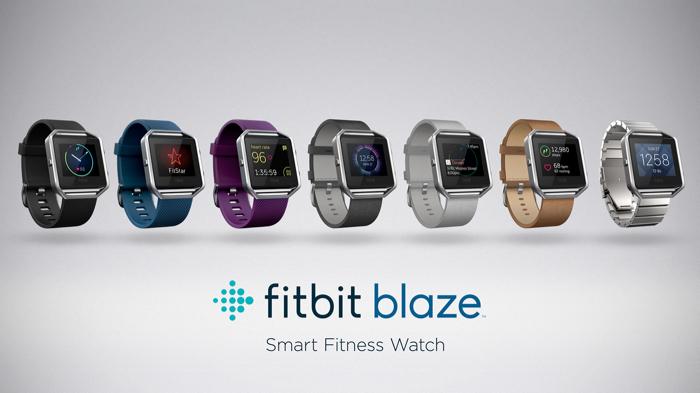 Fitbit révèle la Blaze, sa smartwatch avec un écran tactile couleur