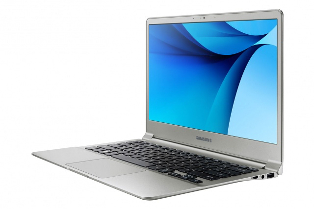 Samsung Notebook 9 : vue de 3/4
