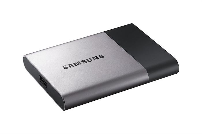 CES 2016 : Samsung dévoile son disque Portable SSD T3