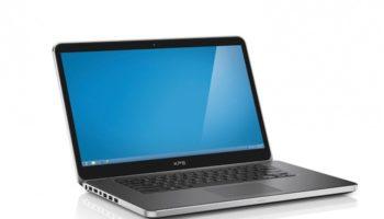 Dell XPS 13 : vue de face