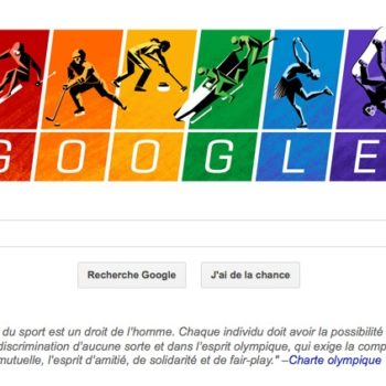 Charte olympique : le doodle dédié aux JO de Sotchi 2014