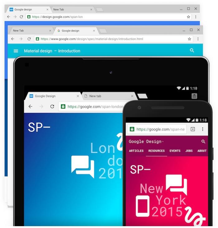 Chrome OS passe au Material Design : une interface unifiée