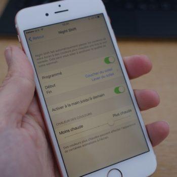 Comment faire pour activer Night Shift sur un iPhone ou un iPad