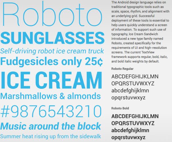 Comment faire pour utiliser la police Roboto de Google partout ? – Téléchargement