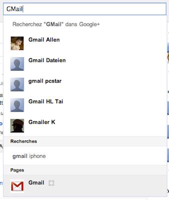 Comment Google va se servir de ses pages Google+ ! – Recherche page Google+ Gmail