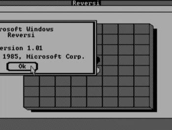 Reversi sur Windows 1.01