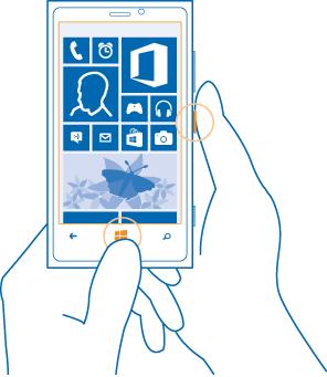 Comment prendre une capture d 39 cran sur les nokia lumia for Photo ecran lumia 920
