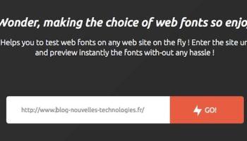 Choix du site à passer sur TypeWonder