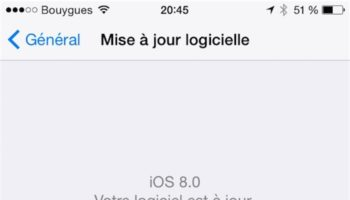 Comment restaurer votre iPhone à iOS 8.0