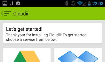 Avec Cloudii vous pouvez connecter divers services de stockage sur le cloud