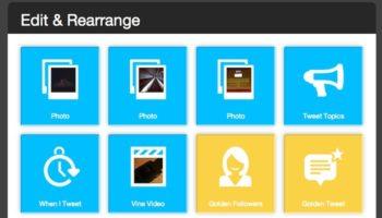Créer une vidéo avec les points forts de votre compte Twitter en 2013 avec Vizify