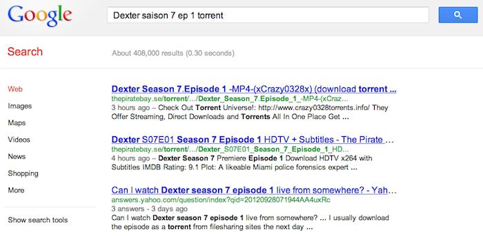 Dexter saison 7 épisode 1, c