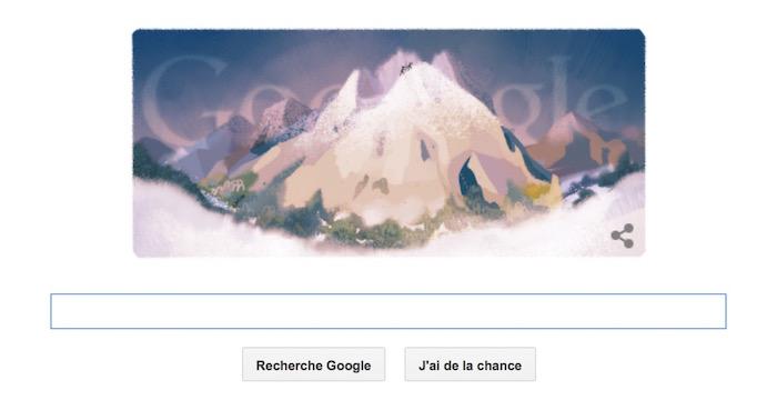 la premi 232 re ascension du mont blanc en doodle