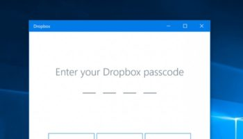 Dropbox et Windows Hello