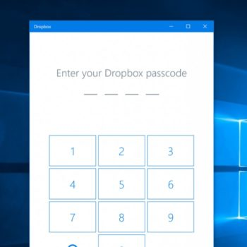 Dropbox et Windows Hello