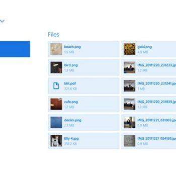 Dropbox arrive enfin sur le Windows Store avec une interface Modern UI pour Windows 8