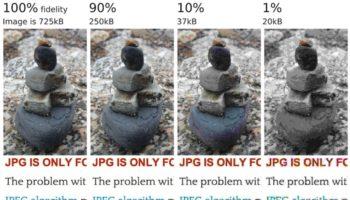 En lançant mozjpeg, Mozilla améliore le taux de compression des fichiers JPEG