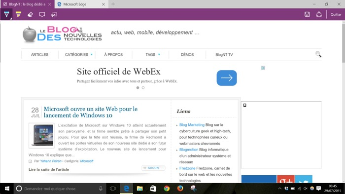 Enfin, le navigateur Microsoft Edge va obtenir le support des extensions