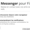 Envoyer des messages Facebook depuis votre navigateur c