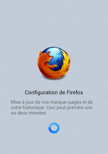 Essayer le nouveau Firefox pour Android – Configuration de Firefox pour Android au démarrage