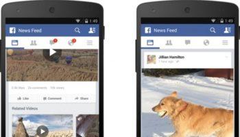Facebook ajoute le nombre de vues d