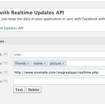 Facebook apporte des mises à jour en temps réel au tableau de bord de l