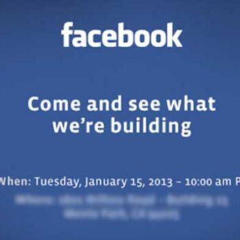 Facebook est en train de