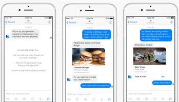 Facebook M rivalisera avec Siri, Google Now et Cortana en 2016