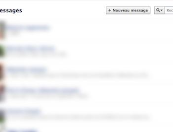 Facebook Messages se modernise en modifiant son interface utilisateur – Ancienne interface de Facebook Messages