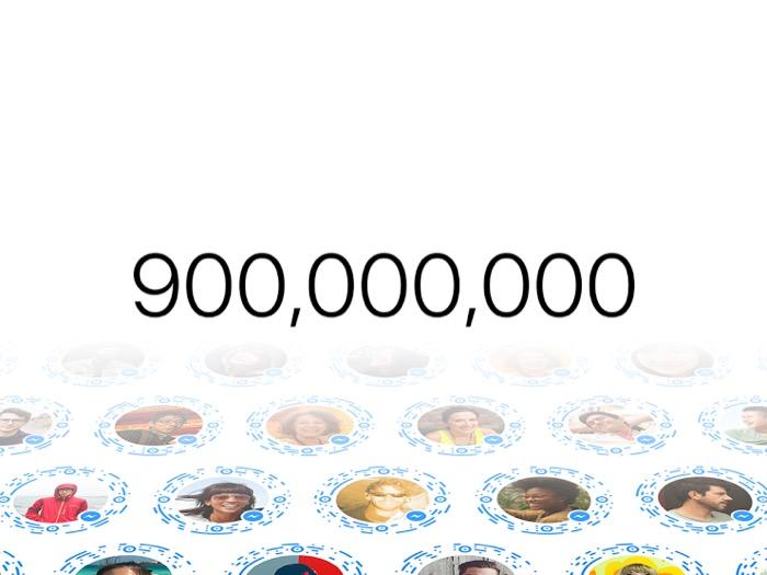 Messenger a maintenant plus de 900 millions d'utilisateurs actifs par mois