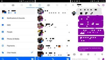 Facebook pourrait ajouter les SMS à Messenger