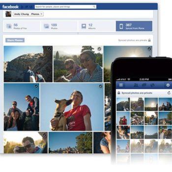Facebook Photo Sync lancé sur iOS et Android, afin d