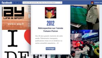 Facebook récapitule les tendances 2012 sur les faits de l'année