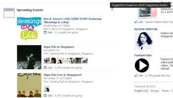 Facebook teste les évènements à venir dans son flux d