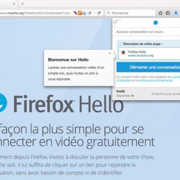Firefox est désormais livré avec sa propre messagerie instantanée