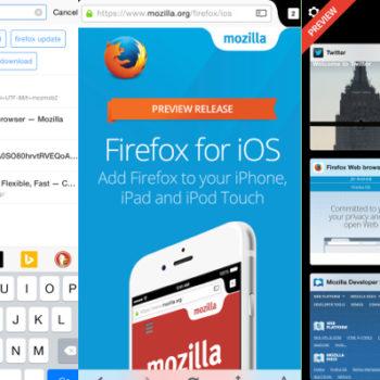 Le navigateur web Firefox va bientôt arriver sur les iPhone et iPad
