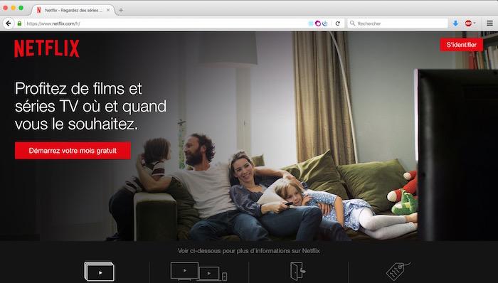 Firefox offre un support au lecteur vidéo HTML5 de Netflix sur Windows