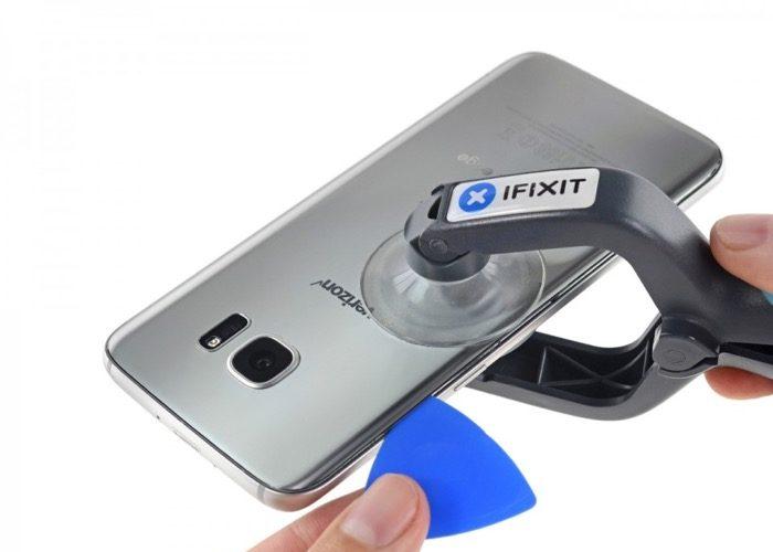 Galaxy S7 : le démontage de l