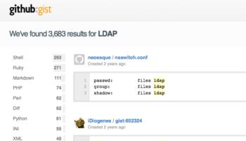 GitHub revoit Gist, son service de partage de code