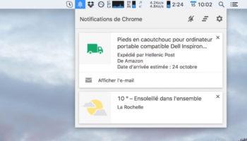 Google abandonne son centre de notifications de Chrome