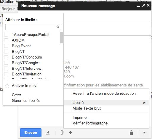 Google ajoute des fonctionnalités à son nouveau mode de rédaction