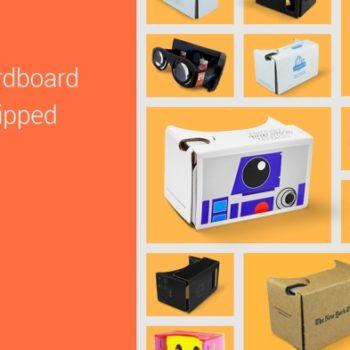 Google affirme avoir expédié plus de cinq millions de Cardboard