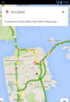Waze est désormais intégré au sein de Google Maps