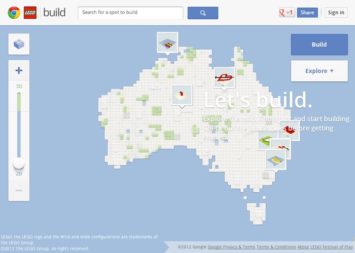 Google développe un site composé de 8 mille milliards de LEGO – Hommage de Google pour le 50ème anniversaire de LEGO