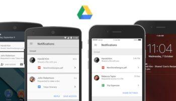 Google Drive mis à jour pour faciliter la collaboration