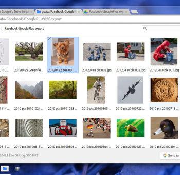 Google Drive intégré au sein de la branche Dev Channel de ChromeOS