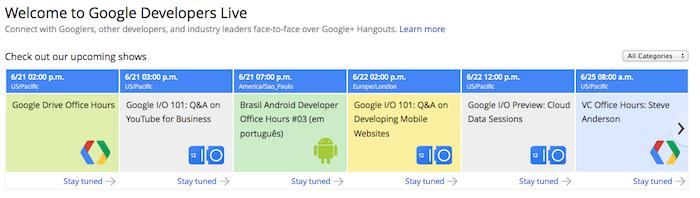 Google essaie se rapprocher des développeurs